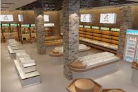 420平米水果店龙8国际pt老虎机设计效果图 (6)