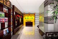 茶叶店乐虎国际登陆设计效果图 (8)