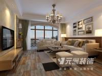 亲水湾龙园-170平米三居室-美式风格装修效果图 (6)