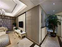 碧桂园—128平米—三居室—简欧风格装修效果图 (8)