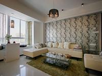 赞成乐山红叶—128平米—四居室—现代简约装修效果图 (6)