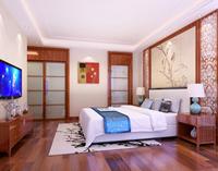 中航天逸154平米四居室中式风格装修效果图 (6)