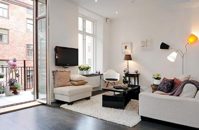 北部湾大厦小区-三居室-现代简约风格装修效果图 (11)