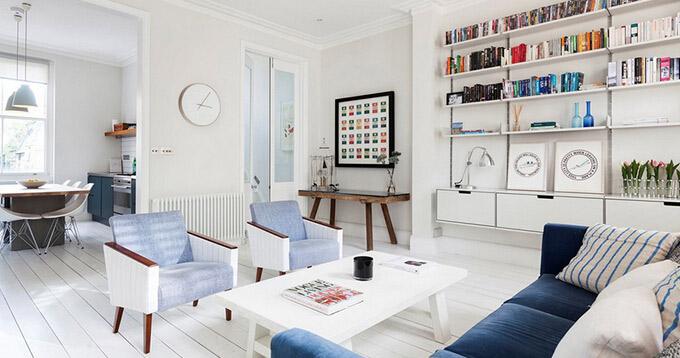 天桃住宅小区-三居室-现代简约风格装修效果图 (7)