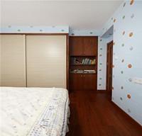 浪漫香槟—95平米—两居室—现代简约装修效果图 (8)