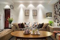 信达西山银杏79平米二居室混合型风格乐虎国际登陆效果图 (5)