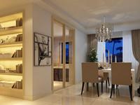 凤凰城—105平米—两居室—现代简约装修效果图 (5)