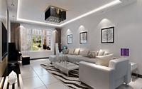 新东村小区-二居室-现代简约风格装修效果图 (7)