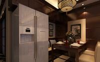京扬数码广场—105平米—三居室—新中式装修效果图 (5)