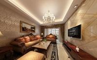 绿地玫瑰城-101平米-三居室-新古典主义风格乐虎国际登陆效果图 (5)