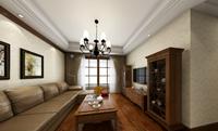 环城西路97平米二居室欧式风格装修效果图 (6)