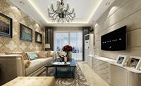 雅戈尔`香颂湾111平米三居室欧式风格龙8国际pt老虎机效果图 (5)