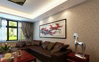 永恒朗晴—79平米—两居室—中式装修效果图 (4)