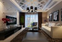 丰泉小区143平米三居室欧式风格装修效果图 (5)