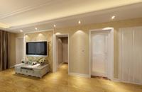 曙光小区80平米三居室欧式风格装修效果图 (6)
