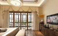 阳光新城—127平米—三居室—中式装修效果图 (3)