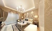 创基尚城84平米二居室欧式风格装修效果图 (3)