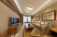 风清云都-90平米-三居室-日式风格装修效果图 (5)