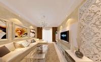 安泰家园-212平米-三居室-新古典主义风格装修效果图 (5)