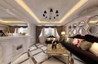 乐园小区-144平米-四居室-新古典主义风格龙8国际pt老虎机效果图 (5)