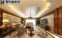 东海湾-344平米-四居室-新古典主义风格龙8国际pt老虎机效果图 (5)