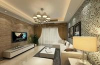 太极景润-110平米-三居室-现代简约风格龙8国际pt老虎机效果图 (6)