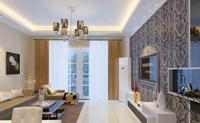 匡山小区-120平米-三居室-现代简约风格装修效果图 (5)