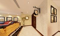 财富城市花园48平米四居室美式风格装修效果图 (4)
