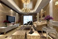 香樟花园-88平米-二居室-欧美风情龙8国际pt老虎机效果图 (5)