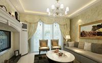东岗家园85平米二居室欧式风格装修效果图 (5)