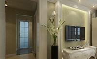 金宝花园85平米三居室欧式风格装修效果图 (5)