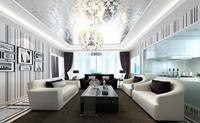 行署大院-122平米-三居室-现代简约风格装修效果图 (7)