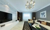 向阳小苑-128平米-三居室-现代简约风格装修效果图 (5)