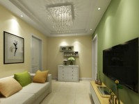 江门古寨-62平米一居室-现代简约装修效果图 (5)