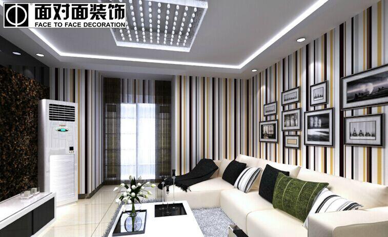 唐城御府小区-130平方米-三居室-后现代风格龙8国际pt老虎机效果图 (4)