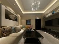 繁荣新都-69平米二居室-现代简约龙8国际pt老虎机效果图 (5)