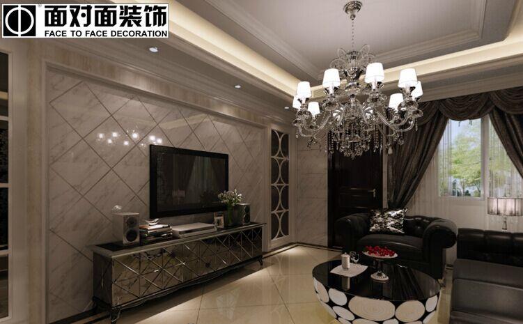 学府·雅居小区-88平方米-二居室-后现代风格装修效果图 (4)