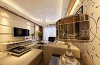 江门古寨-90平米-三居室-简欧风格风格龙8国际pt老虎机效果图 (5)