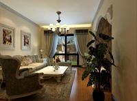 学府•雅居-80平米-二居室-美式风格风格龙8国际pt老虎机效果图 (3)