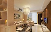 美邻彼岸—136平米—三居室—新中式装修效果图 (3)