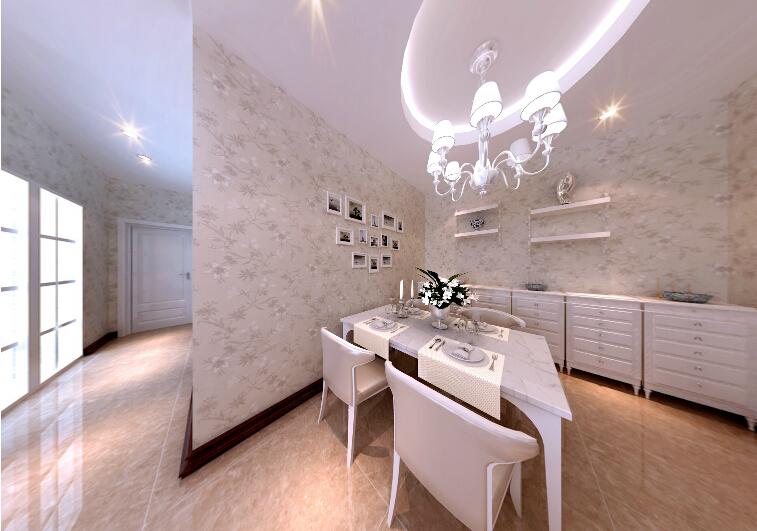 金星小区-二居室79平米田园风格 (5)