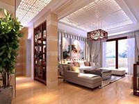 黄山学院—170平米—四居室—现代简约装修效果图 (7)