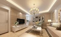 泛华盛世80平米二居室欧式古典风格装修效果图 (4)