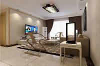 光明世家—103平米—三居室—地中海风格装修效果图 (4)
