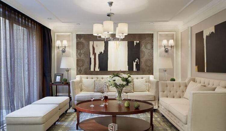 华天小区-98平方米-二居室-现代简约风格装修效果图 (4)