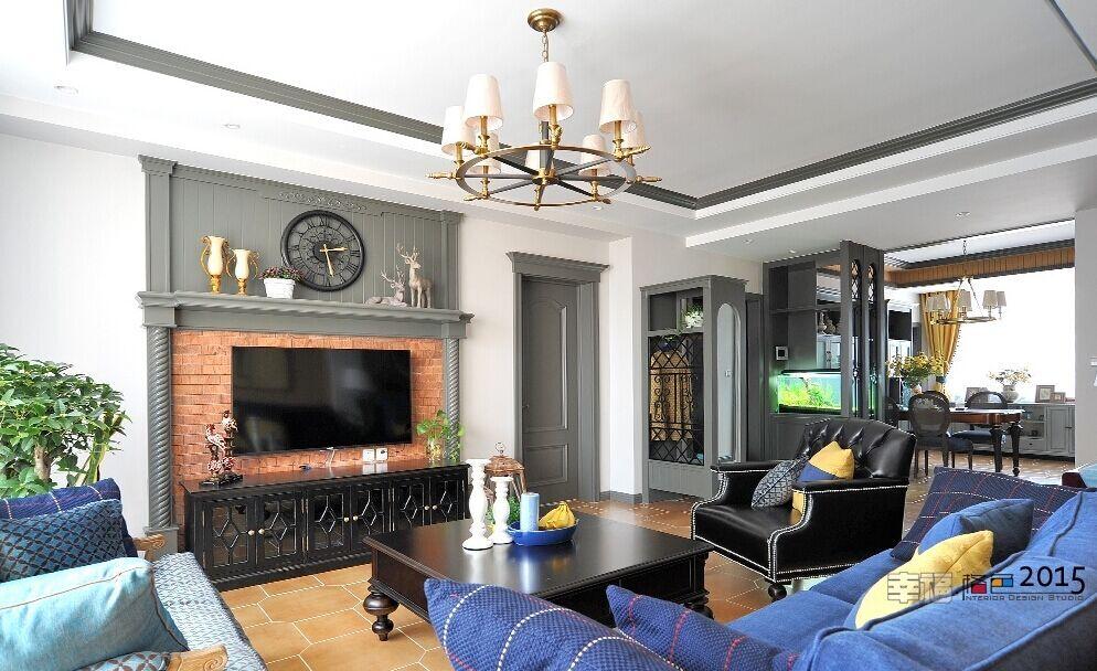 合源小区-90平方米-二居室-西式古典风格装修效果图 (7)
