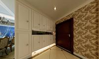尚东康城144平米三居室现代欧欧风格乐虎国际登陆效果图 (6)