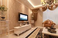 泰湖新城120平米三居室现代欧式风格乐虎国际登陆效果图 (6)