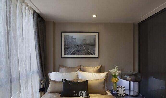 兴达小区-70平方米-二居室-现代风格装修效果图 (4)