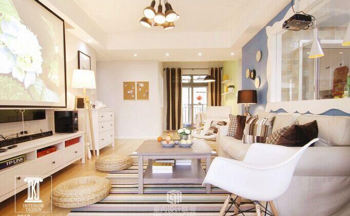 大唐世家小区-70平方米-二居室-现代风格装修效果图 (6)